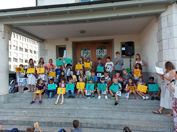 PS Dorf Erster Schultag 2020