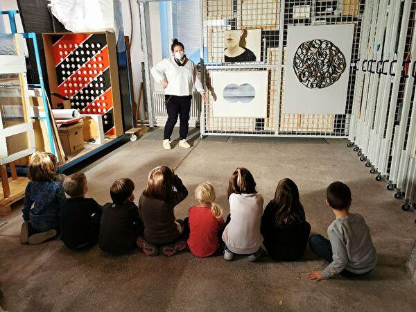 Besuch im Kunstzeughaus