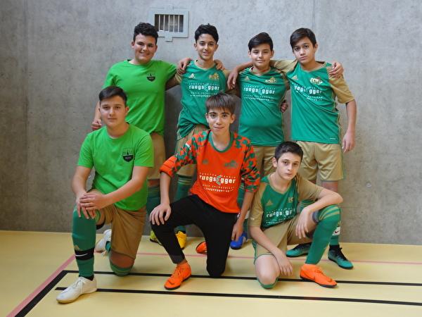 Futsal-Bezirksturnier Wald, 21. November 2018