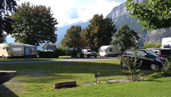 Camping Murg, Plätze für Wohnwagen und Wohnmobile