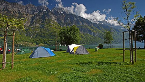 Camping Murg, Zeltplatz