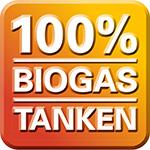 100% Biogas tanken