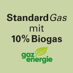 Standard Gas mit 10% Biogas