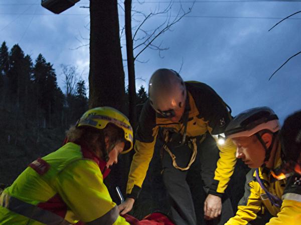 Rettungsübung am Stanserhorn