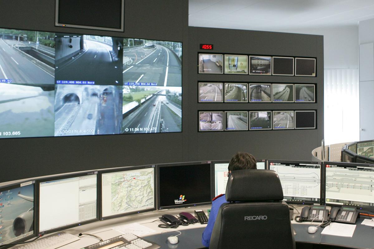 Einsatzzentrale der Kantonspolizei
