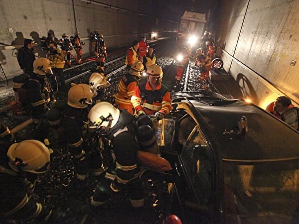 Personenrettung im Tunnel