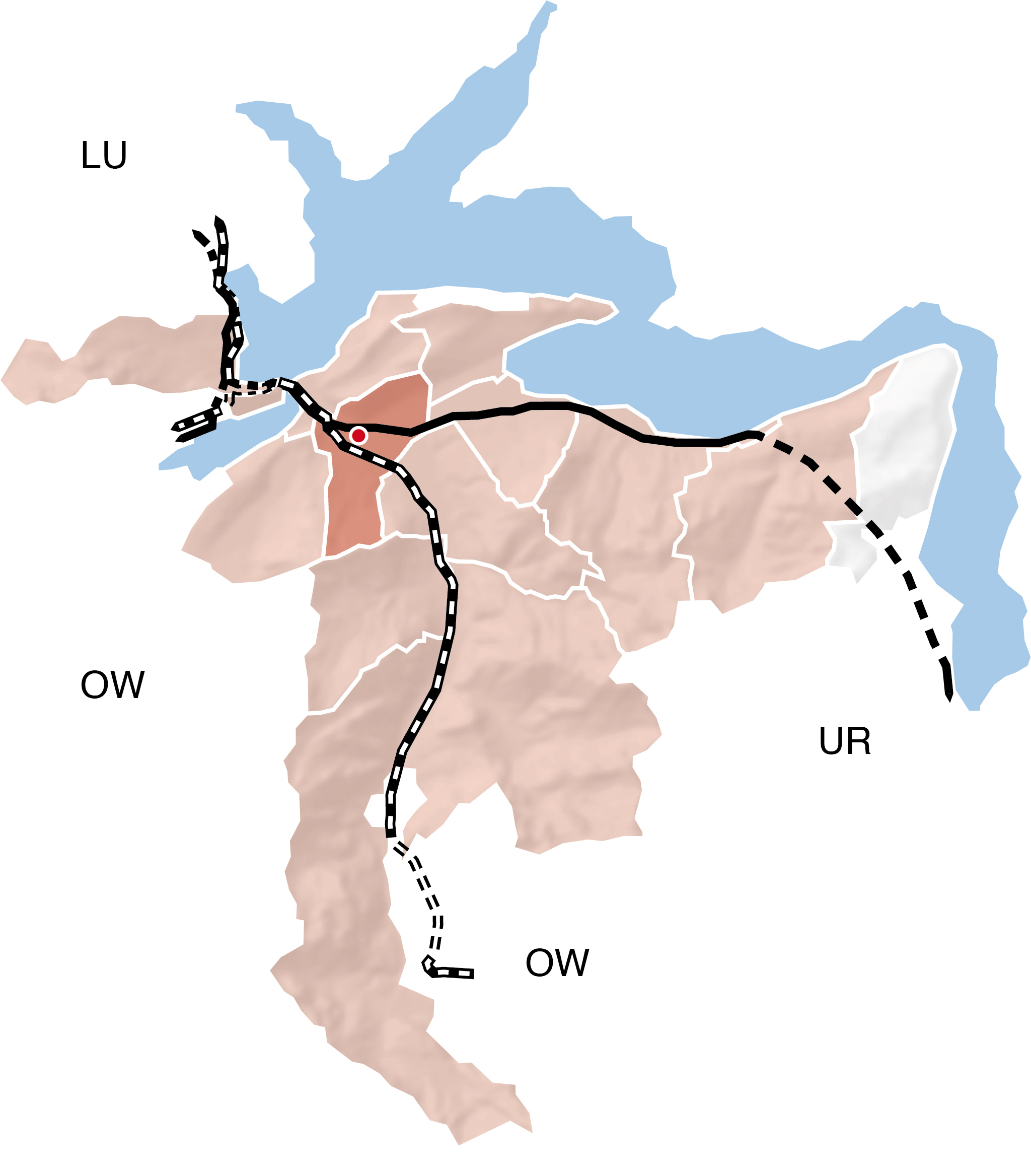 Karte NW
