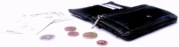 Aufgefundenes Portemonnaie