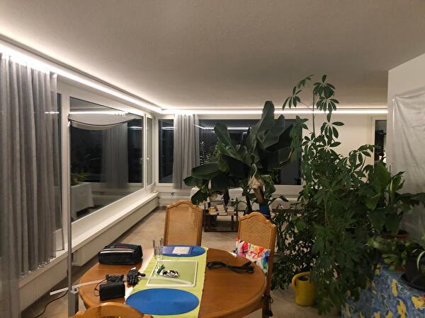 November 2019 - LED Beleuchtung Wohnzimmer, Freudmoos