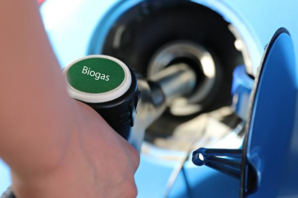 Biogas Tanken
