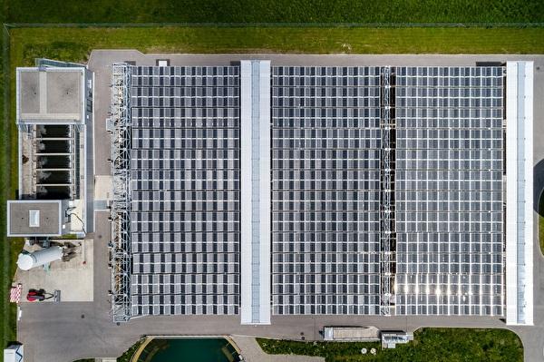 Solarfaltdachanlage