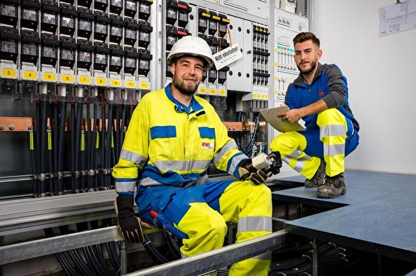 Mitarbeitende EWS Energieversorgung