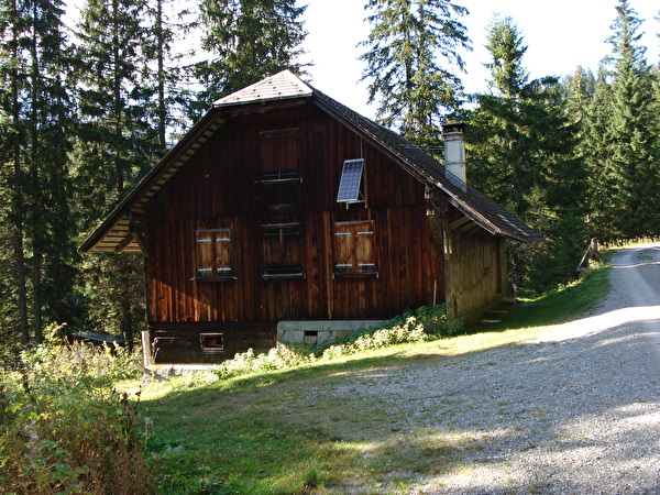 Foto Aussenansicht Zwirchihütte