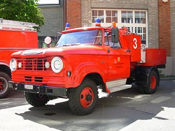 MOWAG Pulverlöschfahrzeug 1987