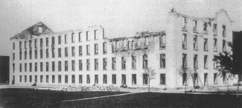 1888 Brand Spinnerei und Weberei