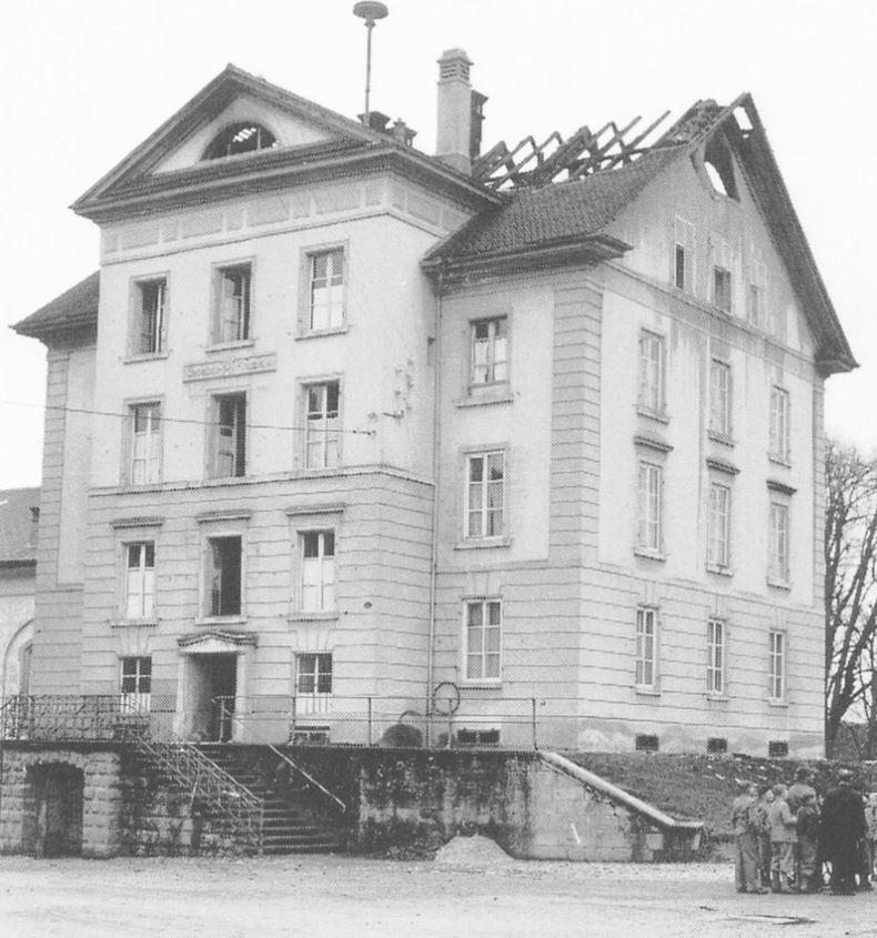 1954 Brand Gemeindehaus