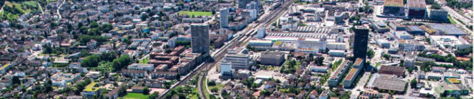 Luftbild Gemeinde Pratteln